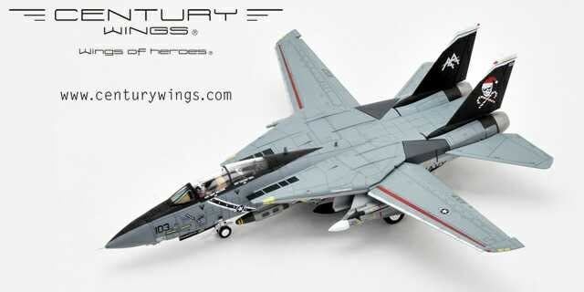 F-14B Tomcat US Navy VF-103 圣誕AA103海盜旗中隊f14模型