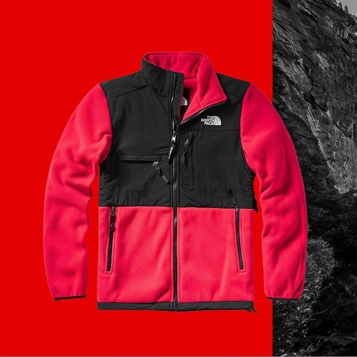 小阿姨shop The North Face北面男女款藍色1995Denali抓絨外套|496UCZ6