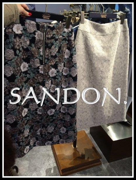 MOUSSY ×山東 SLY MURUA KBF法式古著花朵圖騰古董歐美復古典雅窄裙長裙