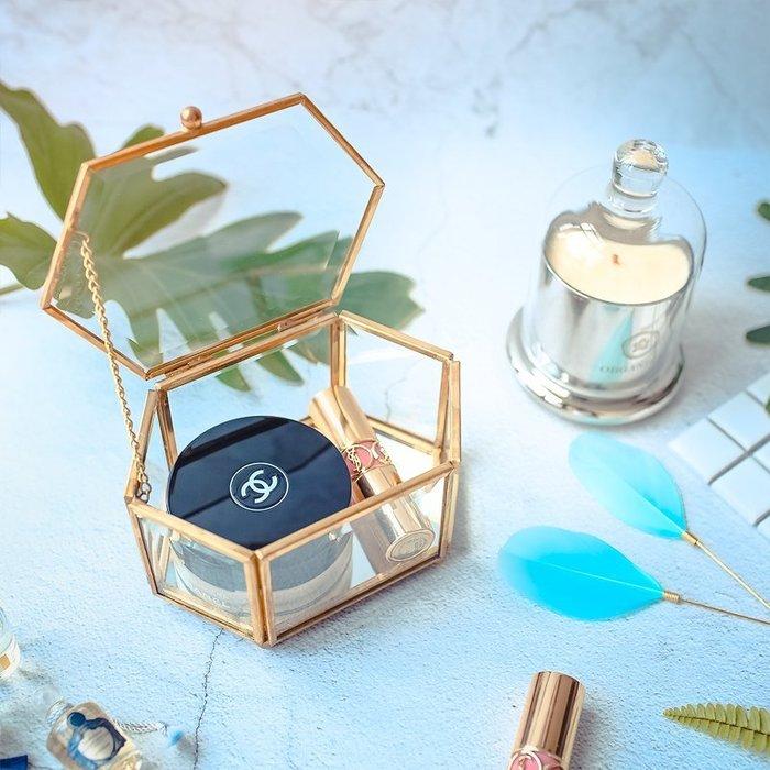 MAJ.POINT-珠寶化妝品首飾品盒 復古做舊 金屬色收納盤手錶項鍊美甲展示 INS 香水口紅歐式 攝影道具 摩登現代