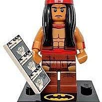全新樂高Lego 71020 Minifigure Apache Chief $28 包平郵費