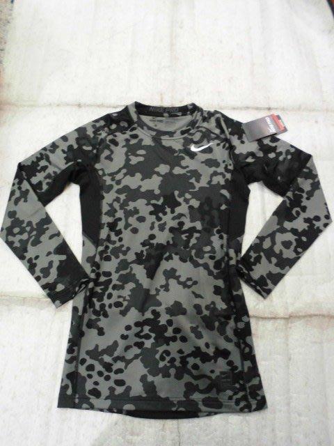 【n0900台灣健立最便宜】2017 大前 NIKE 瑪林-快速排汗緊身長袖T恤-Pro Hyperwarm Compr