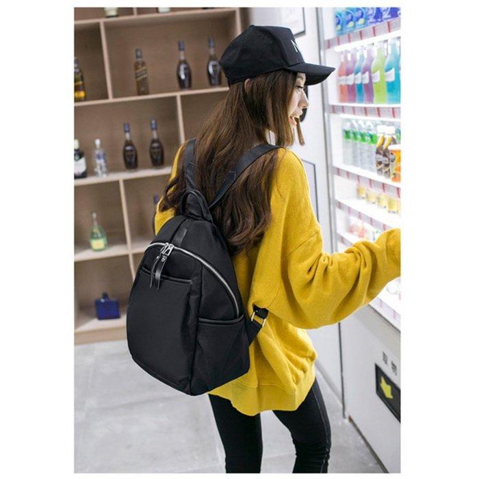 (小款)韓國連線 輕量防潑水尼龍 後背包 斜背包 側背包 水餃包 托特包 書包 媽媽包  手提包 包包 大包 韓妞 女包