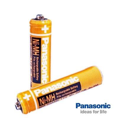 國際3C【郵寄免運+原廠 6顆】Panasonic 無線電相容/4號充電電池 HHR-55AAAB