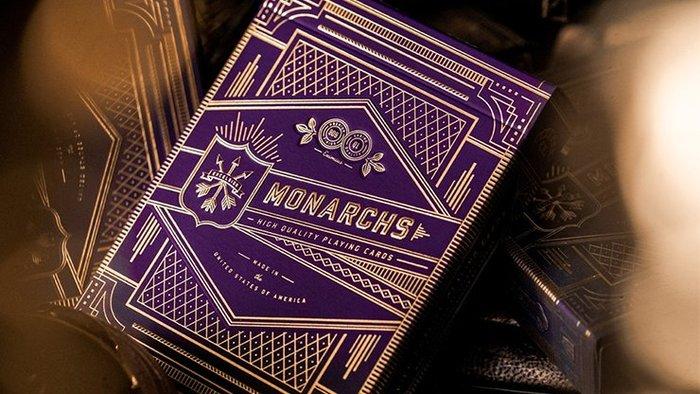 [魔術魂道具Shop]君王牌紫色~Monarch Royal Edition (Purple) Playing Card