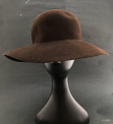 [我是寶琪] 林牧潔二手商品 Wilfred 咖啡色寬延帽