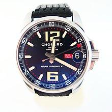 [吉宏精品交流中心]CHOPARD 蕭邦 MILLE MIGLIA GT XL 黑面 自動機械 膠帶 男錶