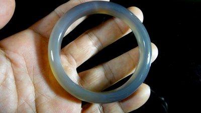 [福田工藝]天然瑪瑙玉鐲/手鐲/手環/內徑5.8cm外徑7.2cm手圍:19[瑪鐲5]
