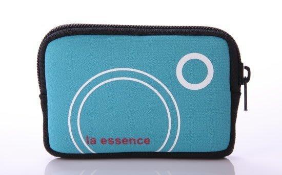 la essence 熱賣商品~LE-9303Q 手機袋/相機包/卡片零錢包~(附頸吊Q 帶)潛水衣布.防震.抗摔