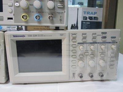 太克 Tektronix TDS220 Oscilloscope 100 MHz 1GS/s 2CH 示波器