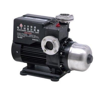 【 川大泵浦 】大井TQ1500B 2HP電子穩壓加壓馬達 TQ1500B TQ1500