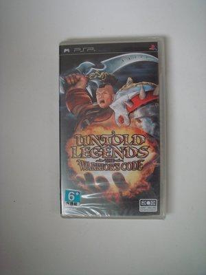 全新PSP 無盡的傳說 2:武士道  英文版 Untold Legends