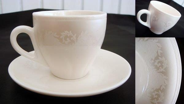 珍珠白Espresso濃縮義式咖啡杯組/膠囊咖啡杯組 外貿定制款