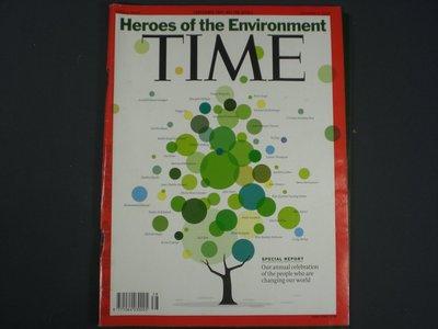 【懶得出門二手書】英文雜誌《TIME 2008.10.06》Heros of the Environment(21F22