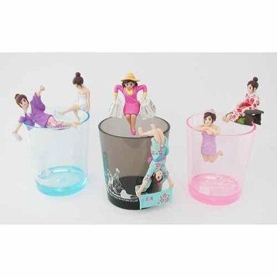 寶寶屋~1/12~1/20日本代購 日本限定 新款 溫泉版 和服版  杯緣子小姐 1個入 隨機(含杯子) ~現貨不用等
