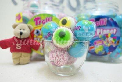 【Sunny Buy寶貝館】◎預購◎ 西班牙 Trolli Pop eye 萬聖節限定 眼球 地球 夾心軟糖 單顆
