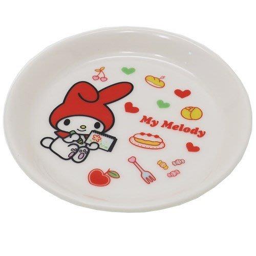 4165本通 日本製 陶瓷小圓盤(10.5公分) 美樂蒂 雙子星 4964412301178 下標前請詢問