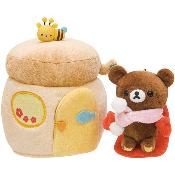 ^燕子部屋 ^ 日本正版San-X 【懶熊 / 小小熊】小小熊可愛場景絨毛公仔