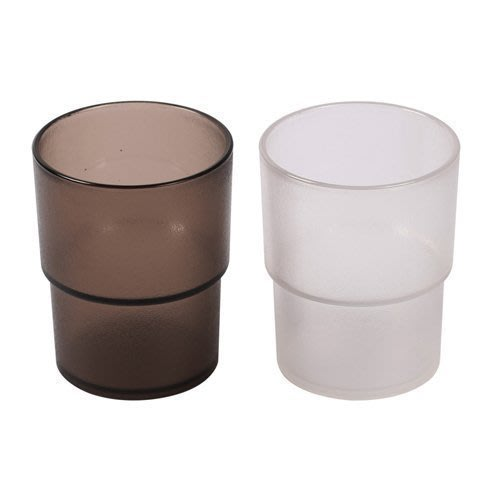 【無敵餐具】PC營業用水杯(茶色&透明色)(300cc)日式餐廳/壽司店/ 量多歡迎詢價【A0343】