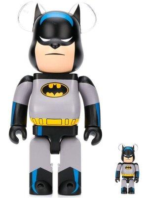~The Black Dan Moccani~ [聯名] BE@RBRICK BATMAN 蝙蝠俠 1000%限量公仔熊