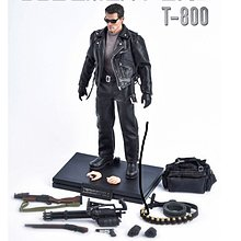 1:12 scale GREAT TWINS 未來戰士 TERMINATOR 2: JUDGEMENT DAY T-800 連限定版配件