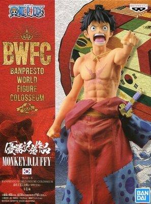 日本正版 景品 海賊王 航海王 DWFC 造型王頂上決戰2 SPECIAL 魯夫 公仔 模型 日本代購