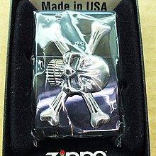 《潮流本舖》正品ZIPPO 骷髏 立體浮雕 燃油打火機 煤油打火機