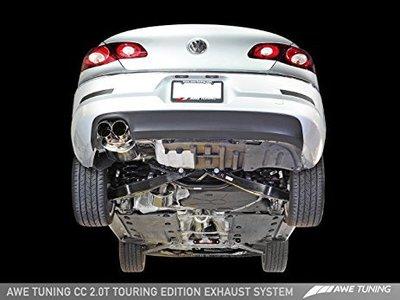 【汽車零件王】 AWE VW CC 2.0T Touring 排氣管 - 鉻銀 尾飾管
