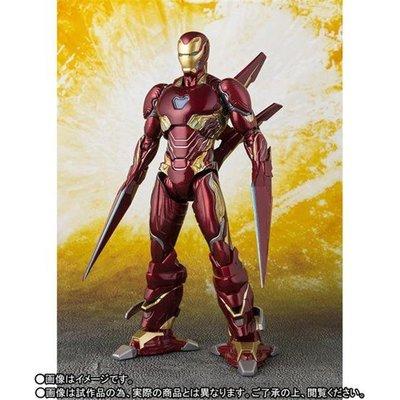 【紫色風鈴3】SHF 復仇者聯盟MK50 鋼鐵人 MK50 鋼鐵人 納米刀 武器套裝版可動擺件 港版