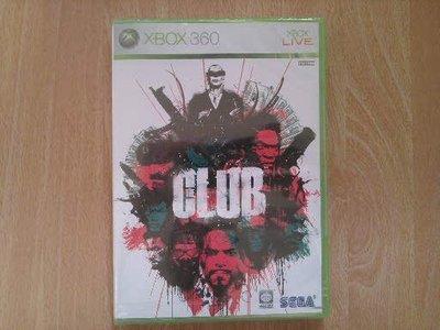 全新 XBOX 360 CLUB  (生存之戰俱樂部)遊戲片