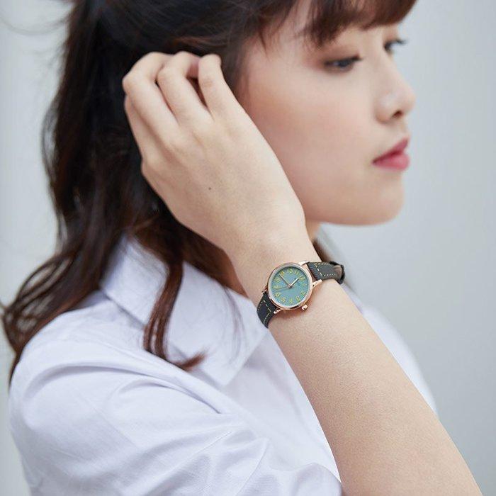 888利是鋪-珂紫kezzi手表女學生ins風森女系百搭復古學院風皮帶防水女生表#手錶