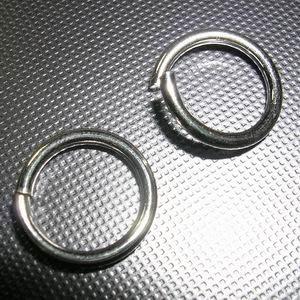 琥珀貓銀飾DIY【925純銀材料配件】開口C圈~6X1.0mm~一組2個