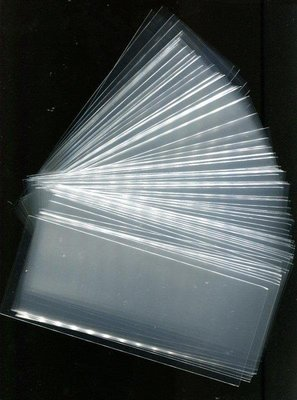 OPP紙鈔保護套 182 x 72 mm 100公克 (約105枚)