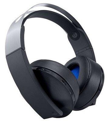 SONY PS4 原廠公司貨 無線立體聲耳罩耳機 白金 無線耳機組 CECHYA-0090 一年保固【台中恐龍電玩】