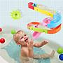 本週特價 豪華浴室溜滑梯玩具組 寶寶洗澡玩...