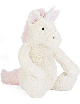 [小珊瑚]英國購入正品 31cm JELLYCAT Bashful Unicorn Medium 獨角獸 絨毛安撫玩偶