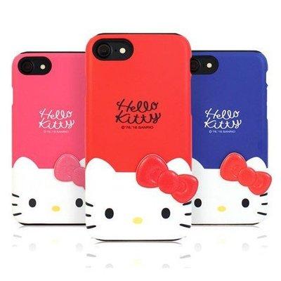 Hello Kitty 雙層防摔 手機殼│iPhone 5S SE 6 6S 7 8 Plus│z7702