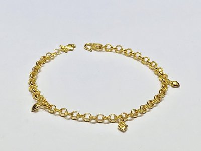 【JHT 金宏總珠寶/GIA鑽石】2.03錢/19cm 黃金手鍊 (請詳閱商品描述)