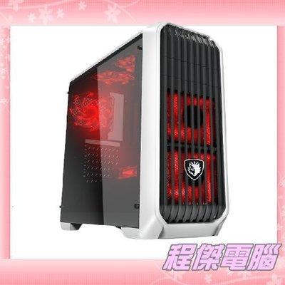 『高雄程傑電腦』SADES 賽德斯 阿奴比斯 ANIBUS 全透側機殼 顯卡支援37CM【內送3顆LED發光風扇】