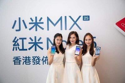 熱賣點 港版行貨 小米 MI MIX 2s 128GB 全新by Philippe Starck 黑/白