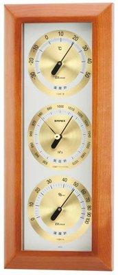 【天翼~日の良品代購】日本製 壁掛式氣壓計/溫度計/溼度計