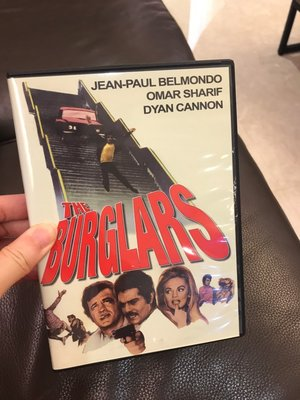 the burglars  犯罪喜劇/驚悚 經典電影 DVD 非出租店出售 無中文字幕
