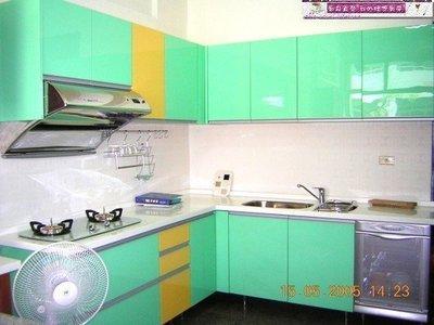 【MIK廚具 直營】浪漫青衣L型歐化廚具215+235人造石+水晶+三機大落地烘碗機