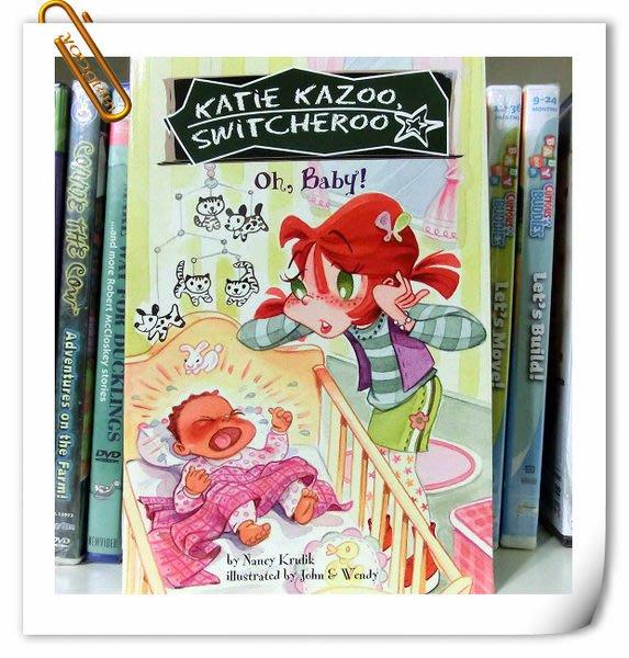 *【兒童英語讀本】*小pen外文童書的家~全美暢銷 KATIE  KAZOO 怪怪 美少女 (學校生活)