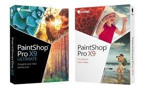【全新含稅附發票】COREL PaintShop Pro X9 ULTIMATE Mini-Box (中/英)文