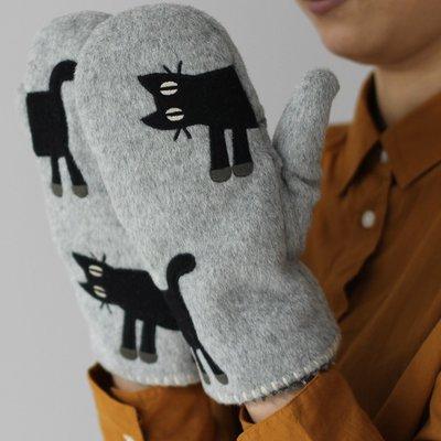 ◎Life Sense◎【LA MERISE】日本製 Atsuko Matano 保野溫子毛呢可露指手套