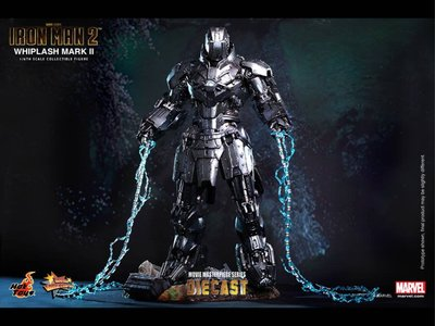 100%全新啡盒未開 Hot toys ironman 2 whiplash II