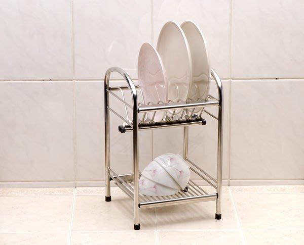 ☆成志金屬☆S-71S2-1B #304不銹鋼小盤架/瀝水架碗盤架,整面板料打造*置物架