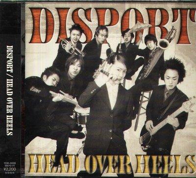 K - DISPORT - HEAD OVER HEELS - 日版 CD - NEW
