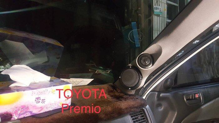 (音之城)TOYOTA CORONA PREMIO A柱中高音